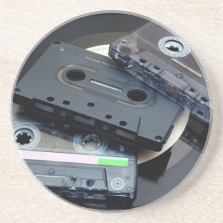 Retro Cassette Tapes Coaster
