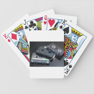 Retro Cassette Tapes Poker Deck