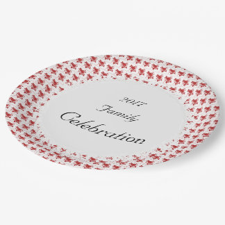 Retro-Celebration-Red-Roses(c)TEMPLATE Paper Plate