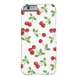 Retro Cherries Barely There iPhone 6 Case