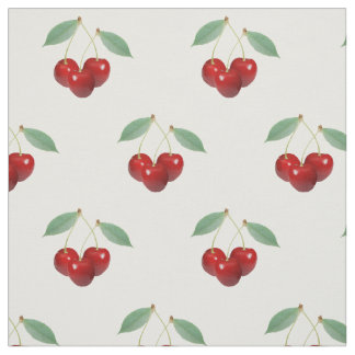 Retro Cherries Fabric
