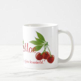Retro Cherries Proverbs Coffee Mug Customize