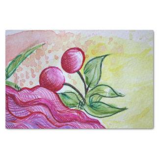 Retro Cherry Tissue Paper