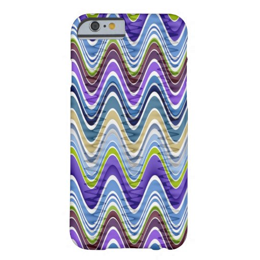 Retro Chevron and Wavy Stripes Pattern iPhone 6 Case