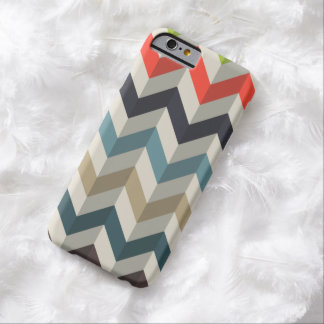 Retro Chevron Pattern Barely There iPhone 6 Case
