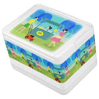 Retro Children's Lemonade Stand Igloo Can Cooler