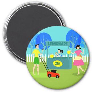 Retro Children's Lemonade Stand Magnet