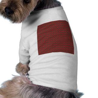 Retro Christmas Diamond Pattern Pet Clothes
