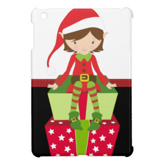 Retro Christmas Elf iPad Mini Cover