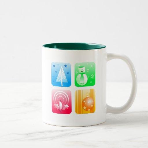 Retro Christmas Mug