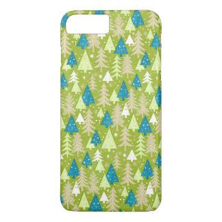 Retro Christmas Trees   iPhone 7 Plus Cases