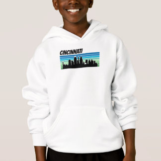 Retro Cincinnati Skyline