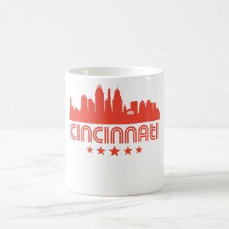 Retro Cincinnati Skyline Coffee Mug