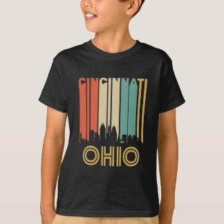 Retro Cincinnati Skyline T-Shirt