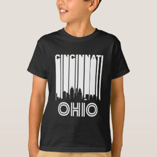 Retro Cincinnati Skyline T-Shirt