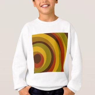 Retro Circle Design Sweatshirt