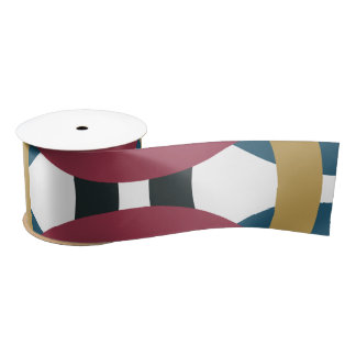 Retro circle knots ribbon satin ribbon