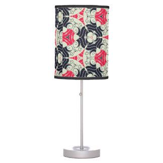 Retro Circle Pattern Table Lamp