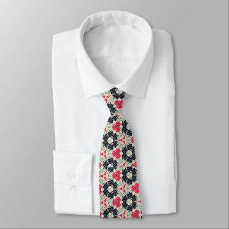 Retro Circle Pattern Tie