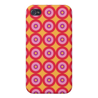 Retro Circles Speck Case Covers For iPhone 4
