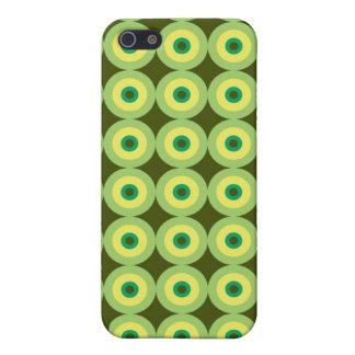 Retro Circles Speck Case iPhone 5/5S Cover