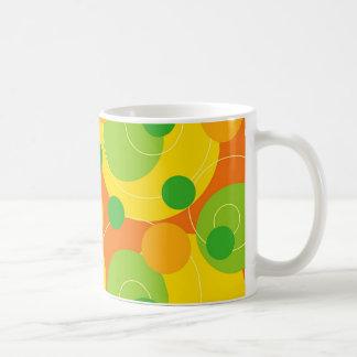 Retro Citrus Dots Funky Groovt Gift Mug