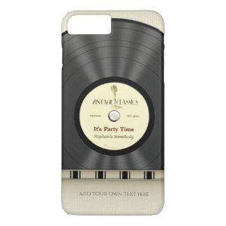 Retro Classic Vinyl LP Record iPhone 7 Plus Case