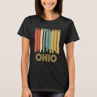 Retro Cleveland Skyline T-Shirt