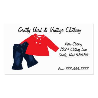 Retro Clothing Business Card