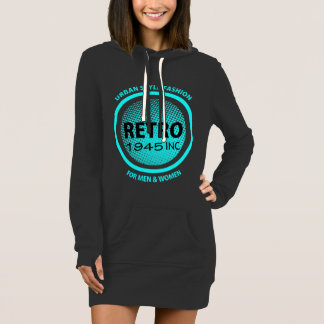 Retro Clothing Company Faux Logo Cool Graphic Dress