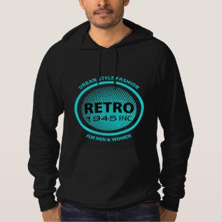 Retro Clothing Company Faux Logo Cool Graphic Hoodie