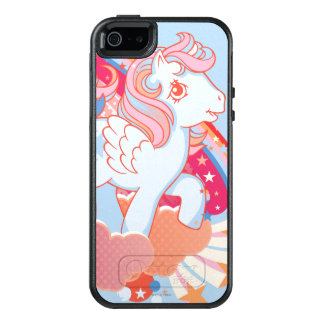 Retro Clouds  Design OtterBox iPhone 5/5s/SE Case