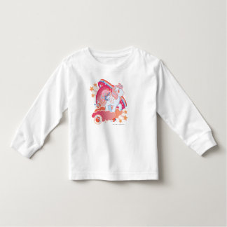 Retro Clouds  Design Toddler T-shirt