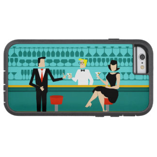 Retro Cocktail Lounge iPhone 6 Case