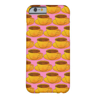 Retro Coffee Cups Pattern iPhone 6/6S Case