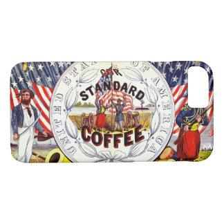 Retro Coffee Label 1862 iPhone 7 Case