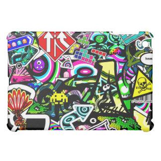 Retro Collage iPad Mini Cover