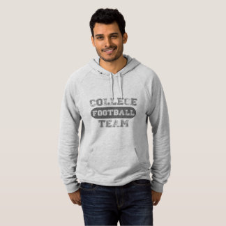Retro College Football Team Hoodie