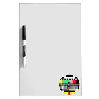 Retro color tv test screen Dry-Erase boards