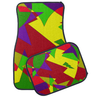 Retro Colorful Abstract Car Liners