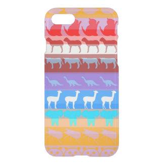 Retro Colorful Animals Modern Stripes Pattern #8 iPhone 8/7 Case