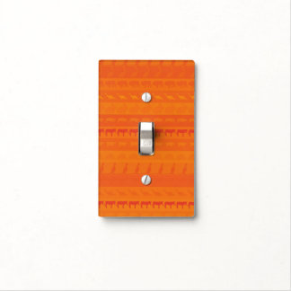 Retro Colorful Animals Pattern #9 Light Switch Cover