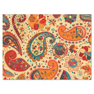 Retro Colorful Beautiful Boho Bohemian Paisley Tissue Paper