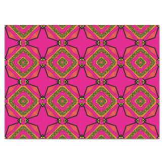 Retro Colorful Beautiful Boho Bohemian Tissue Paper
