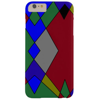 Retro Colorful Diamond Abstract Barely There iPhone 6 Plus Case