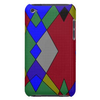 Retro Colorful Diamond Abstract iPod Case-Mate Case