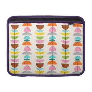 Retro Colorful Nests MacBook Air Sleeve