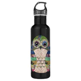 Retro Colorful Owl Boho Bohemian Bird Custom 710 Ml Water Bottle