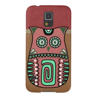 Retro Colorful Owl Boho Bohemian Bird Custom Cases For Galaxy S5