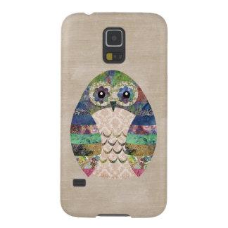 Retro Colorful Owl Boho Bohemian Bird Custom Galaxy S5 Cover